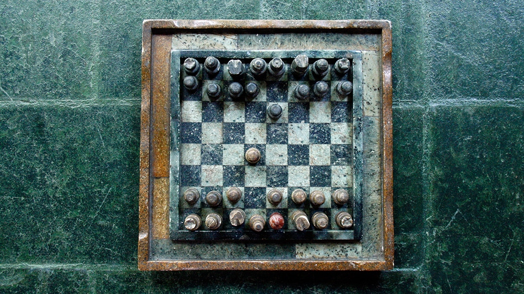 ancient chessboard